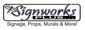 signworks plus logo